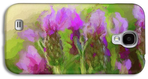Painted Lavender Sunset By Kaye Menner Galaxy S4 Case