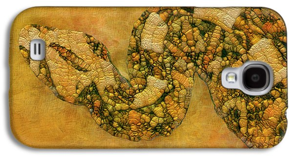 Painted Snake Galaxy S4 Case