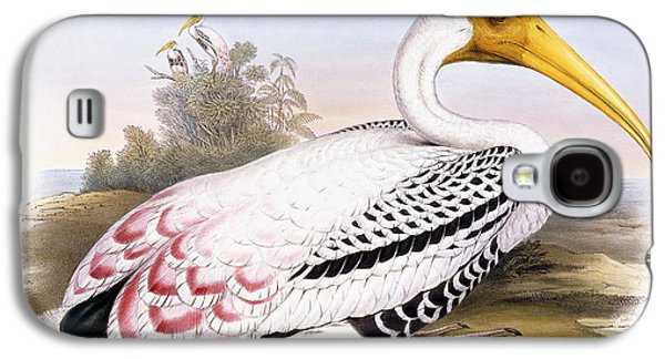 Painted Stork Galaxy S4 Case by John Gould