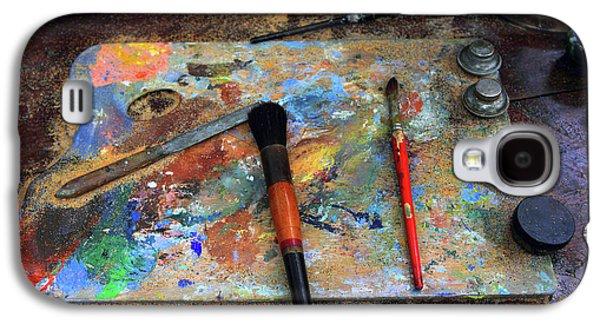 Painter's Palette Galaxy S4 Case by Jessica Jenney