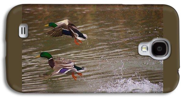 Pair Of Ducks Galaxy S4 Case