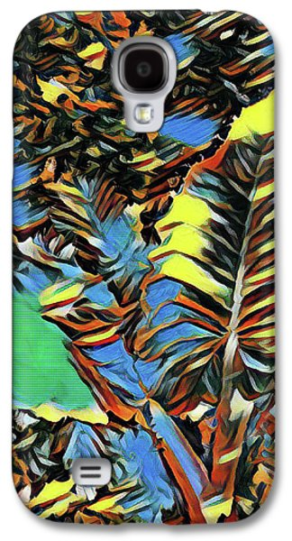 Palm Abstract Galaxy S4 Case by Mindy Newman
