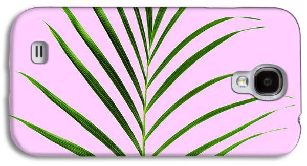Palm Leaf Galaxy S4 Case