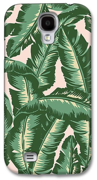 Palm Print Galaxy S4 Case by Lauren Amelia Hughes