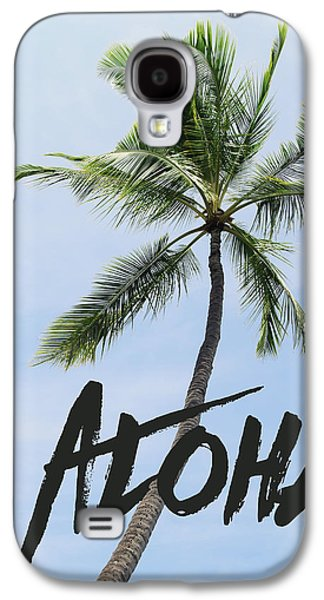 Palm Tree Galaxy S4 Case by Nastasia Cook
