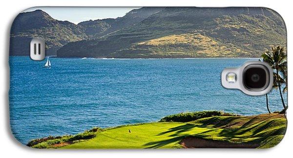Palm Trees In A Golf Course, Kauai Galaxy S4 Case