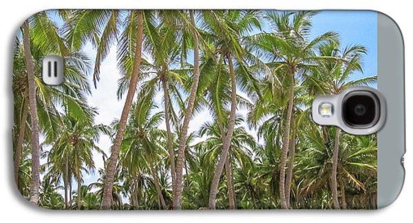 Palm Trees In Playa Rincon Galaxy S4 Case