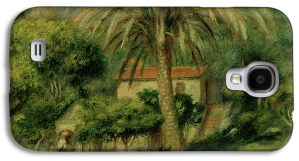 Palm Trees Galaxy S4 Case by Pierre Auguste Renoir
