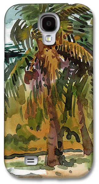 Palms In Key West Galaxy S4 Case by Donald Maier