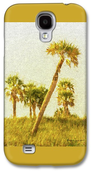 Palms On Canvas Galaxy S4 Case