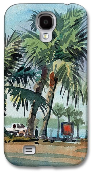 Palms On Sanibel Galaxy S4 Case by Donald Maier