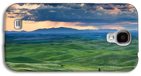 Palouse Storm Galaxy S4 Case by Mike  Dawson
