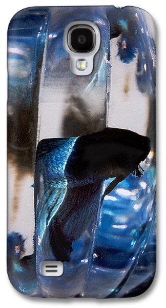 panel three from Swirl Galaxy S4 Case by Steve Karol