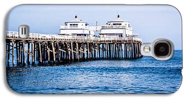 Panoramic Picture Of Malibu Pier In Malibu California Galaxy S4 Case by Paul Velgos