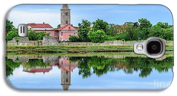 Panoramic Reflections Of Nin, Croatia Galaxy S4 Case