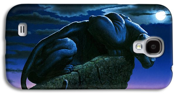 Panther On Rock Galaxy S4 Case by MGL Studio - Chris Hiett