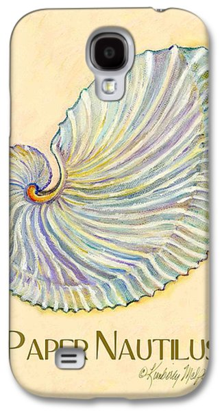 Paper Nautilus Galaxy S4 Case by Kimberly McSparran