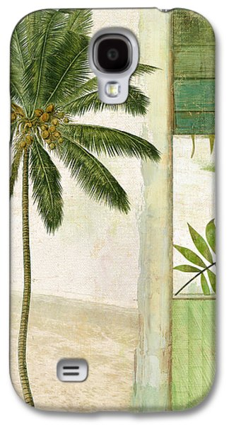 Paradise II Palm Tree Galaxy S4 Case by Mindy Sommers