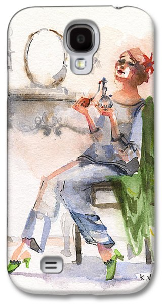 Parfum Galaxy S4 Case by Kristina Vardazaryan