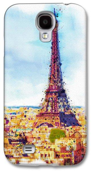 Paris Aerial View Galaxy S4 Case
