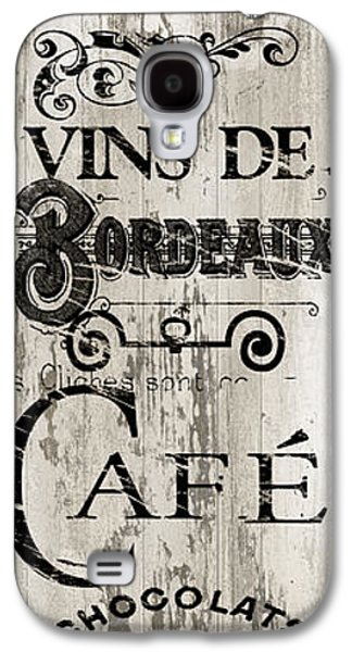 Paris Bistro I Galaxy S4 Case by Mindy Sommers