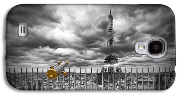 Paris Composing Galaxy S4 Case
