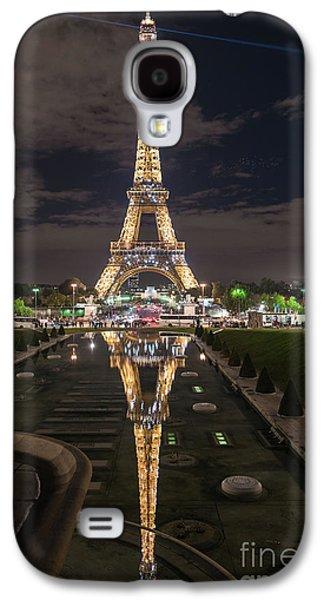 Paris Eiffel Tower Dazzling At Night Galaxy S4 Case