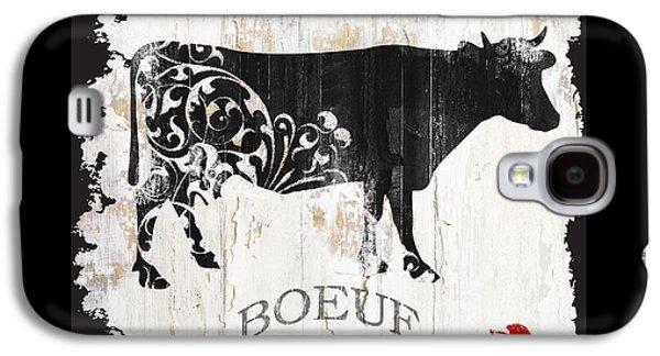 Paris Farm Sign Cow Galaxy S4 Case