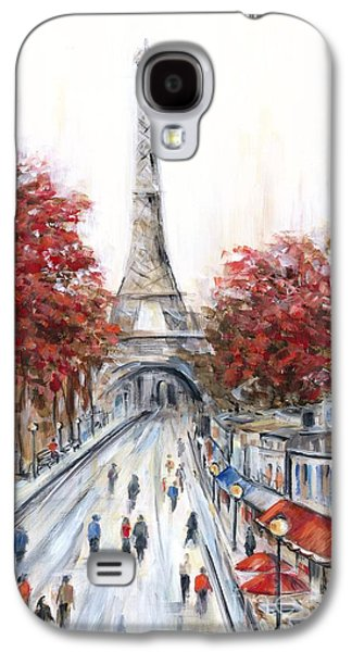 Paris In The Fall Galaxy S4 Case by Marilyn Dunlap