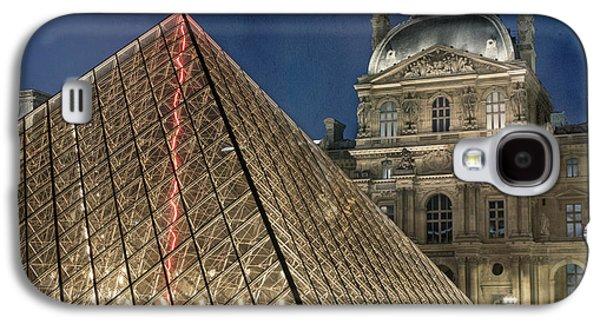 Paris Louvre Galaxy S4 Case by Juli Scalzi