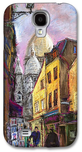 Pastels Galaxy S4 Cases - Paris Montmartre 2 Galaxy S4 Case by Yuriy  Shevchuk