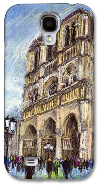 Paris Notre-dame De Paris Galaxy S4 Case