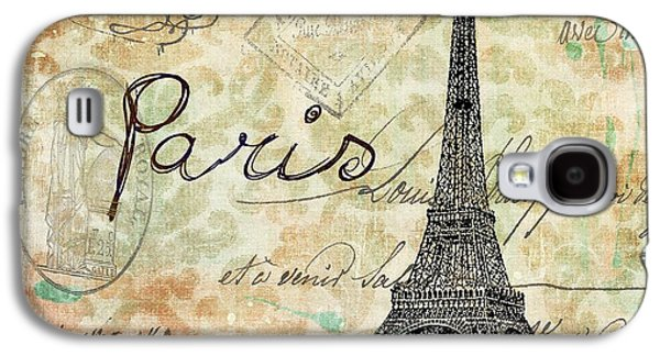 Paris - V07at1 Galaxy S4 Case by Variance Collections