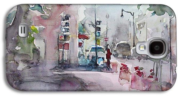 Park Avenue 2 Galaxy S4 Case by Becky Kim