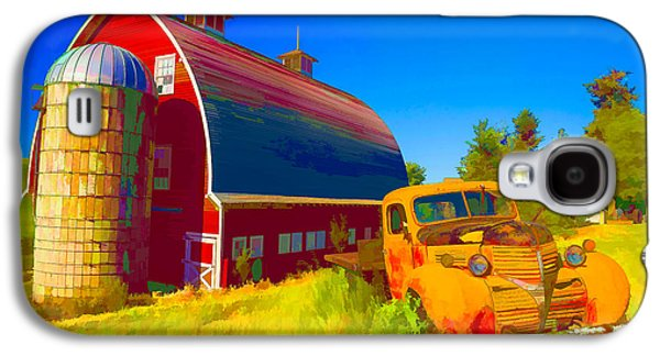 Parked In Front  II Galaxy S4 Case by Jon Glaser