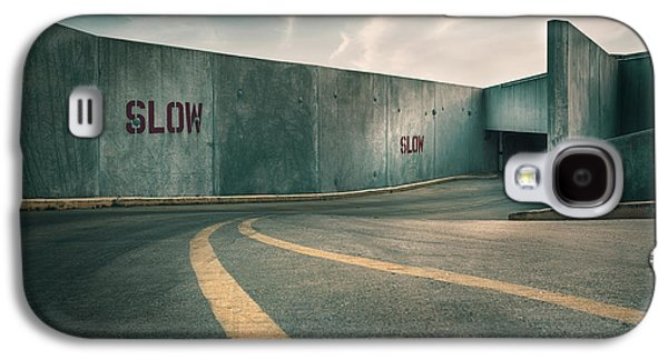 Parking Garage At The End Of The World Galaxy S4 Case by Scott Norris