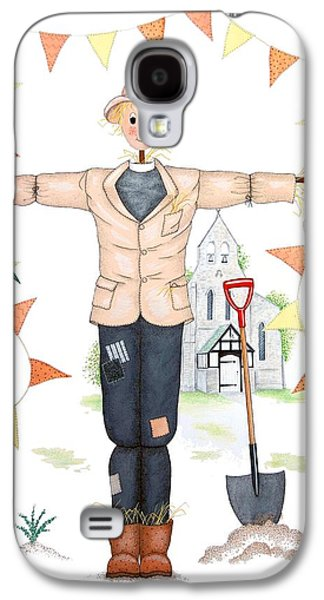 Parson Scarecrow Galaxy S4 Case by Sandra Moore