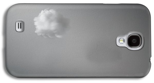 Minimalist Galaxy S4 Case - Partly Cloudy by Scott Norris