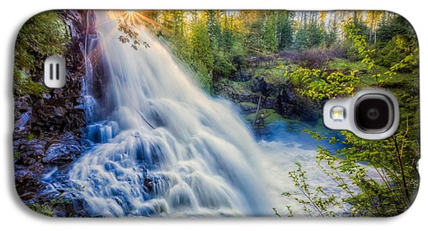 Galaxy S4 Case featuring the photograph Partridge Falls In Late Afternoon by Rikk Flohr