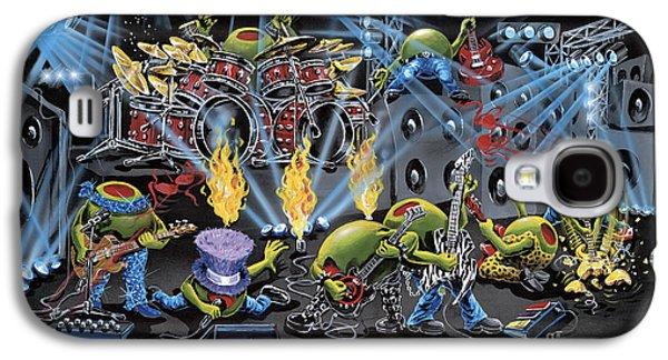 Party Like A Rockstar Galaxy S4 Case by Michael Godard