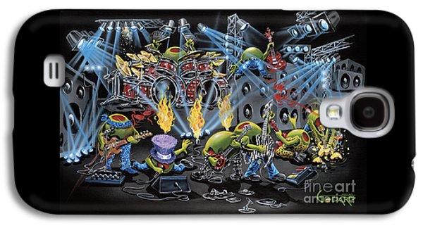 Rock And Roll Galaxy S4 Case - Party Like A Rockstar by Michael Godard
