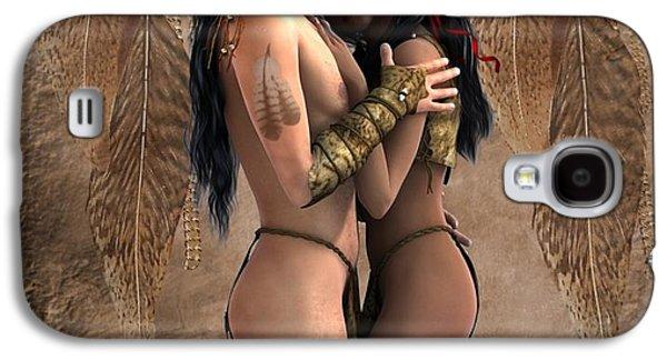 Passion Spirits 2 Galaxy S4 Case by Ali Oppy