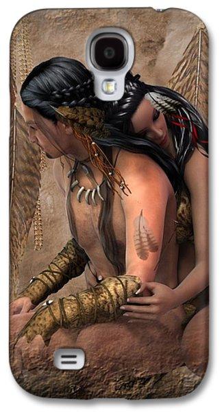 Passion Spirits Galaxy S4 Case by Ali Oppy