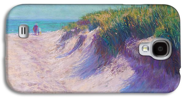 Green Pastels Galaxy S4 Cases - Past the Dunes Galaxy S4 Case by Michael Camp