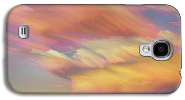 Galaxy S4 Case featuring the photograph Pastel Painted Big Country Sky by James BO Insogna
