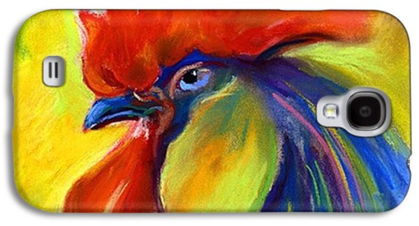 Colorful Galaxy S4 Case - Pastel Rooster By Svetlana Novikova ( by Svetlana Novikova