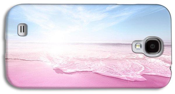Pastel Summer Beach Vacation Galaxy S4 Case