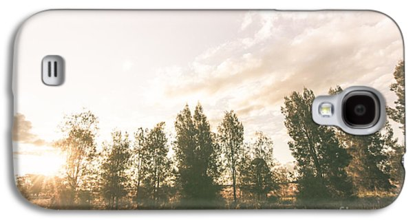 Pastel Sunset Forest Galaxy S4 Case by Jorgo Photography - Wall Art Gallery
