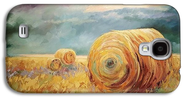 Pasture Ornament Galaxy S4 Case by Ginger Concepcion
