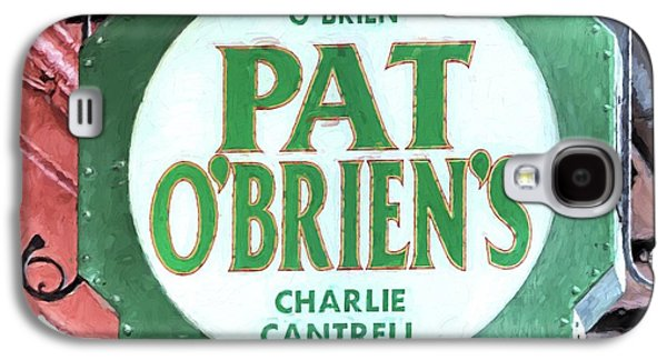 Galaxy S4 Case featuring the photograph Pat Obriens by JC Findley